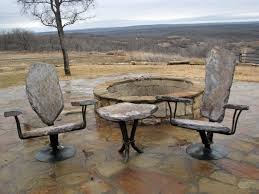 Firepit Chairs Pit Seating Stone2furniture Outdoor Furniture Pool
