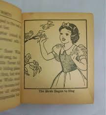 disney u0027s snow white big book sale antiques