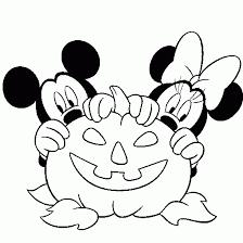 halloween coloring mickey disney halloween coloring book