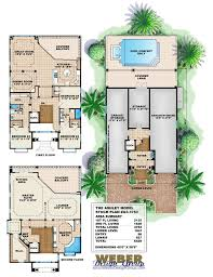 apartments 3 story townhome plans cottage style house plan beds