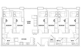 floor plans landmark student housing ann arbor mi