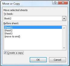 how to create a duplicate identical copy of worksheet in office