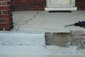 cracked concrete patio solutions home interior design simple