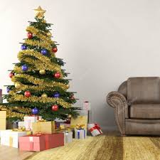 christmas tree in living room stock photo arquiplay77 8199604 christmas tree in modern interior livingroom photo by arquiplay77
