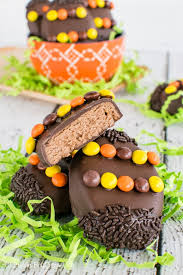 chocolate covered eggs reese s eggs inside brucrew