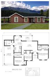Southwest Home Plans 85 Best House Plans Images On Pinterest House Floor Plans Small