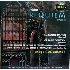 gabriel faure requiem by ernest ansermet lp with chapoultepek69