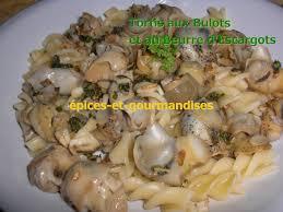cuisiner des bulots tortis aux bulots et au beurre d escargots épices et gourmandises