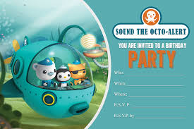 octonauts invitation template rashidablair com