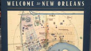 New Orleans Street Map Map New Orleans Usa Youtube