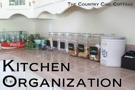 organizing ideas for kitchen kitchen organization ideas the country chic cottage