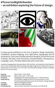 exhibition presentation of a new tomorrownightinsweden u2013 an exhibition exploring the future of