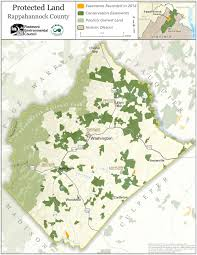 Map Of Loudoun County Va The Krebser Fund For Rappahannock County Conservation The