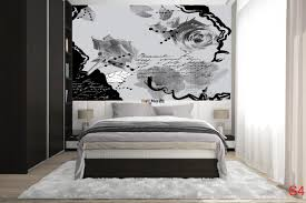 mural graffiti rose in black and white 2 color wallpapers mural graffiti rose in black and white 2 color