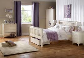 Modern White Queen Bed Bedroom Furniture White Bed White Wooden Vintage Dresser White