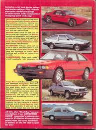 best manual sedans vintage review 1984 compact sedans u2013 consumer guide auto series