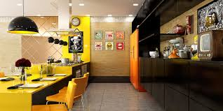 Orange Kitchens by Kitchen 20 Best Yellow Accent Kitchens That Really Shine Dining