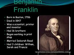 biography facts about benjamin franklin by sebastian benjamin franklin benjamin franklin ppt download