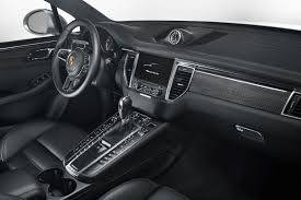 porsche macan 2015 interior porsche macan turbo now with performance package prestige digital