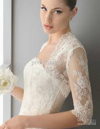 2017 2013 custom beautiful short sleeves white lace bolero wedding