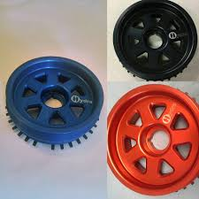 mazda protege mazda protege light weight crank pulley hydra motorsports