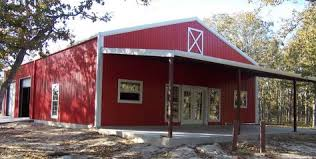 Bbq Barn Harrisburg Il Metal Buildings With Living Quarters Living Quarter In An
