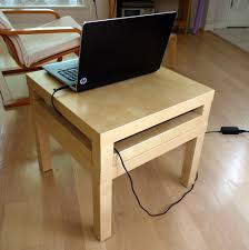 double lack laptop table ikea hackers ikea hackers