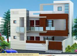 wood cladding and wooden beams exterior elevation 3 d concept