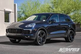 porsche cayenne black wheels 2016 porsche cayenne with 22 tsw regis in matte black wheels