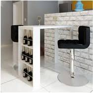 table bar cuisine avec rangement table de bar et table haute à prix auchan pas cher et discount