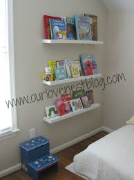 Wall Mounted Bookshelves Diy by Our Love Nest Diy Wall Hung Bookshelf U0026 Reading Corner Making