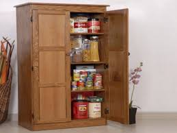 food storage cupboards wooden kitchen pantry organizers wood food