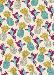 pineapple wrapping paper wrapping paper pineapple as canvas print by a supreme juniqe uk