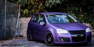 volkswagen purple vw golf matte metallic purple full wrap flickr