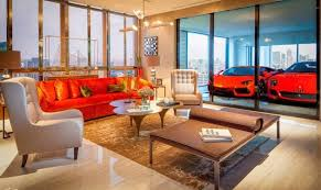 bott atelier et garage automobile high tech singapore sky garage apartments most luxurious car park from height