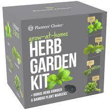 amazon com planters u0027 choice organic herb growing kit herb