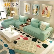 Sofa Set Living Room Living Room Furniture Modern L Shaped Fabric Corner Sectional Sofa