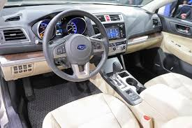 subaru station wagon interior 2015 subaru outback promises to be the roomiest most capable ever