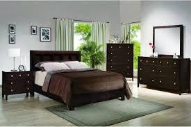 black wood bedroom furniture dark finish wood queen bedroom set b