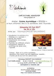 cuisine ayurvedique atelier cuisine ayurvédique et les épices selon l ayurvéda