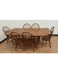 Maple Dining Room Table And Chairs Don T Miss This Deal On Vintage Maple Dining Set Chairs
