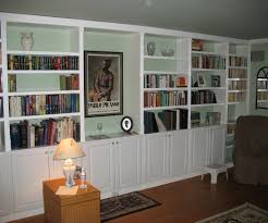 Book Case Ideas Built In Wall Bookcase Inspirational Home Decorating Marvelous