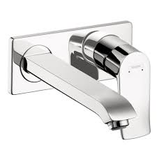 hansgrohe 31086001 metris wall mounted single handle faucet trim