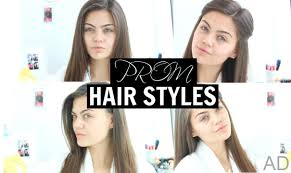 prom simple straight hair styles 2015 youtube