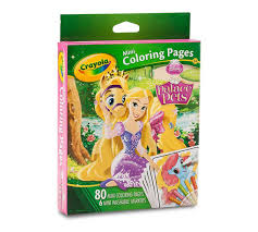 mini coloring pages disney princess palace pets crayola