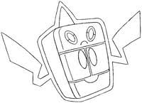 pokemon coloring pages rotom coloring pages pokemon alternate forms drawing