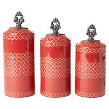pink canisters kitchen modern contemporary kitchen canisters jars you ll wayfair