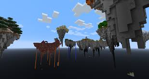 Survival Maps Floating Islands Of The Eternal Abyss Custom Survival Map