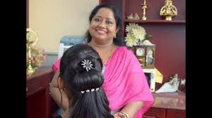easy reception party hairstyle full youtube