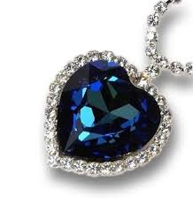 sapphire gem necklace images The heart of the ocean sapphire necklace will go on jpg